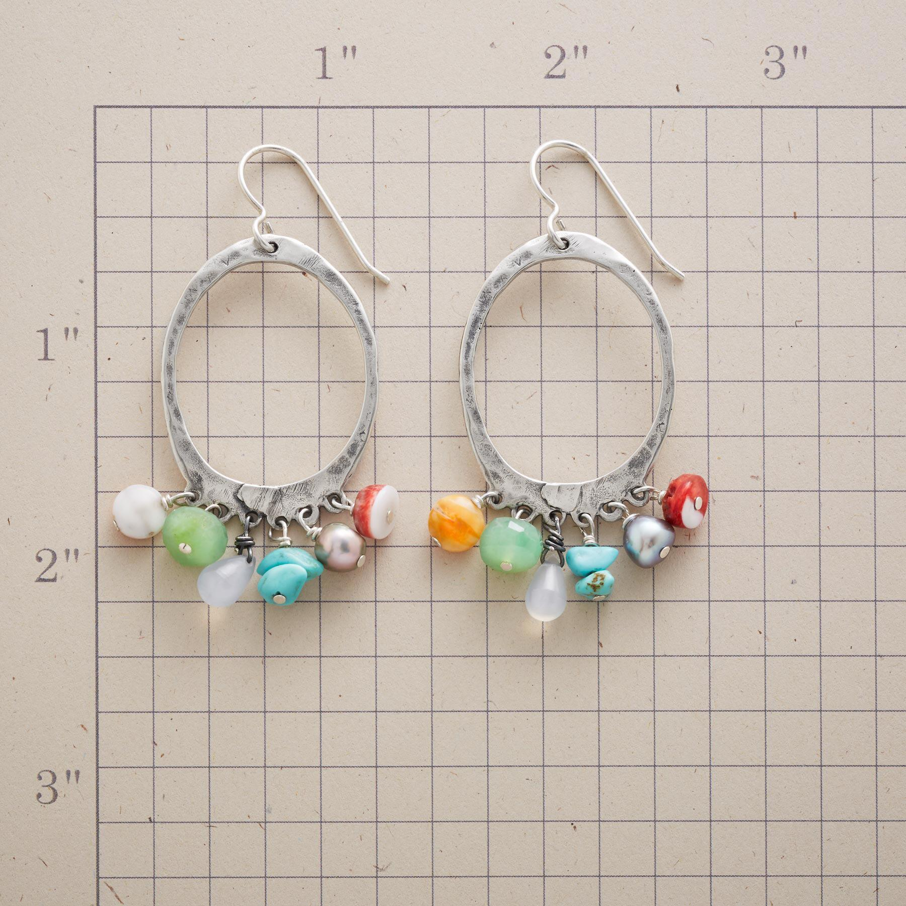 HARMONIC HOOP EARRINGS: View 2