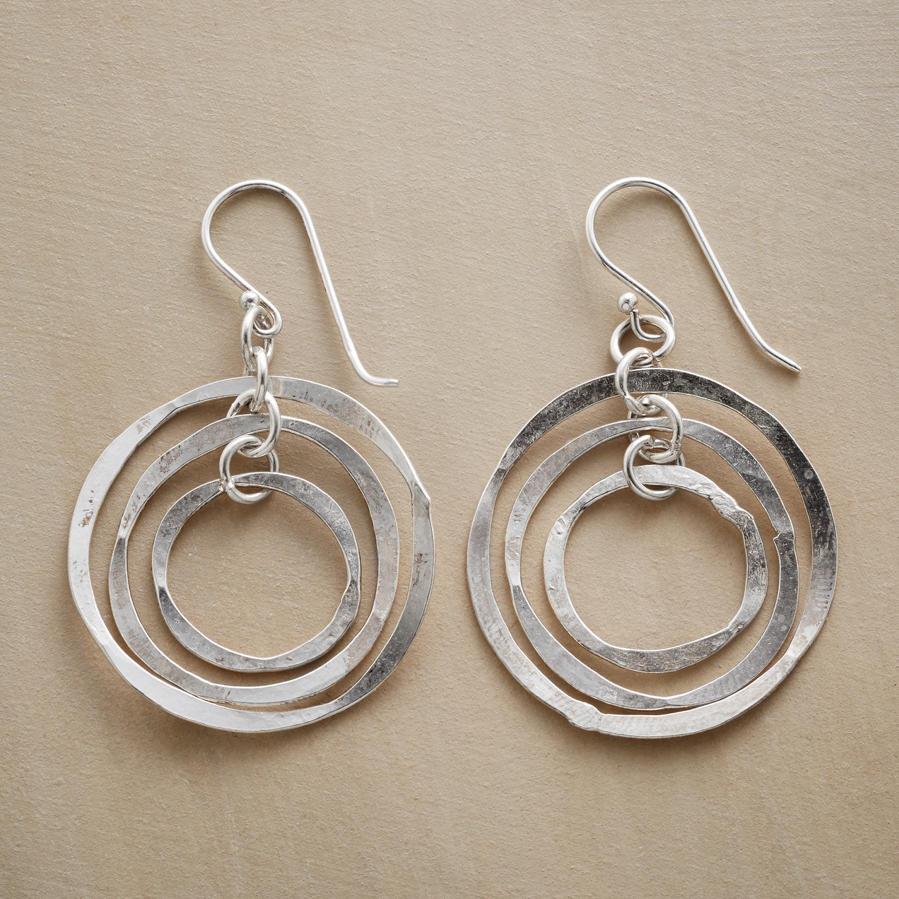 MOBILE HOOP EARRINGS: View 1