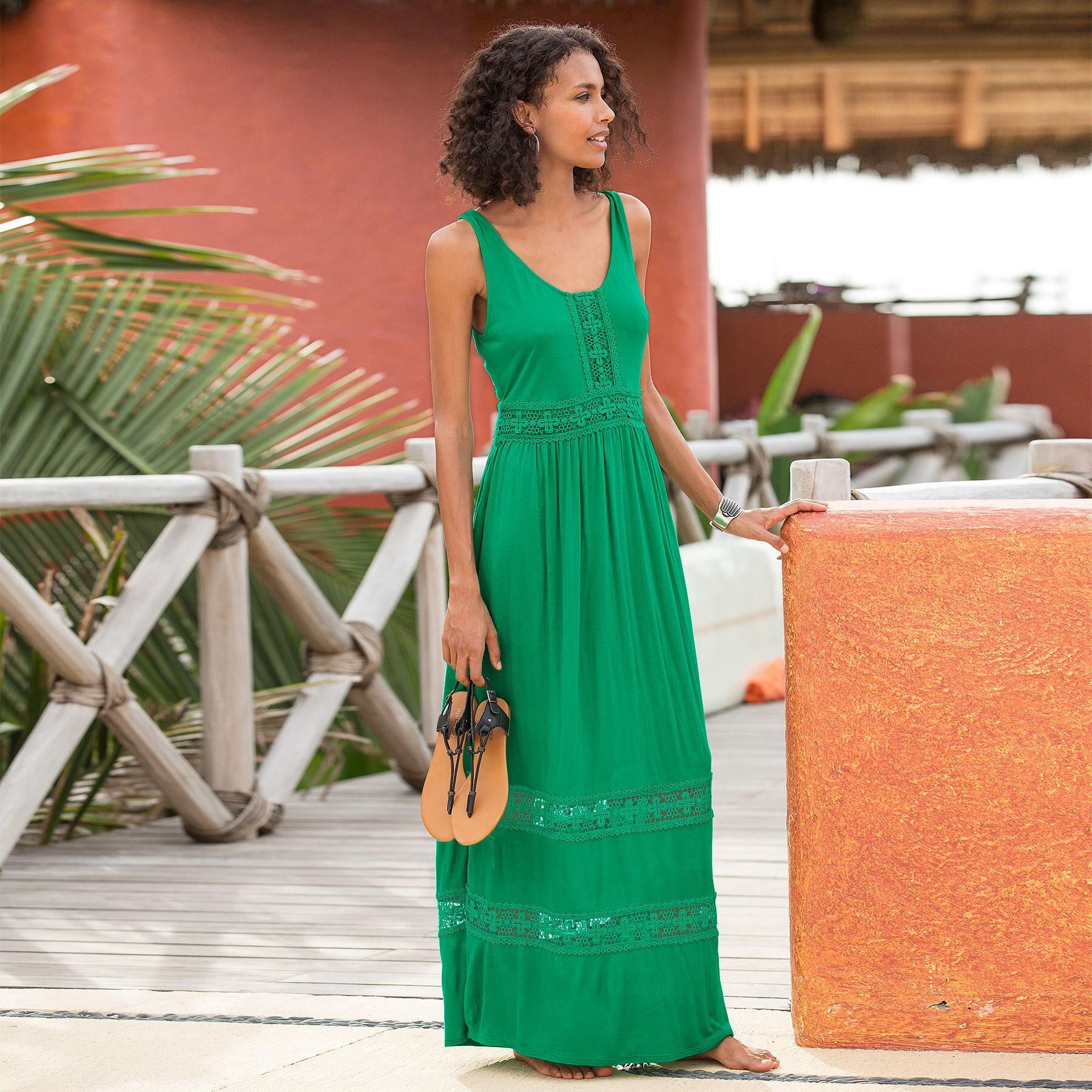 SENORINA MAXI DRESS: View 1