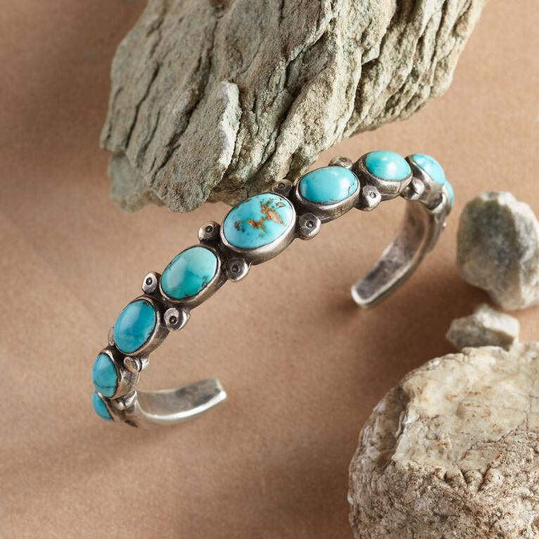 RED MOUNTAIN TURQUOISE CUFF