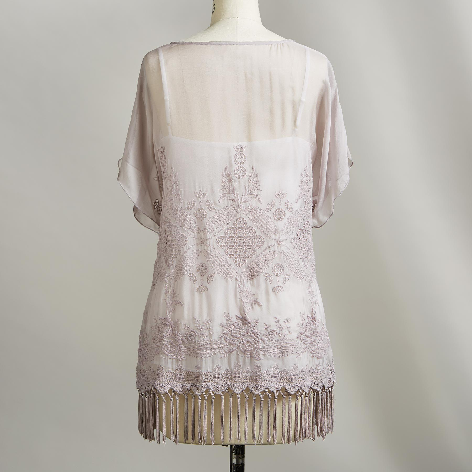 BAZ FRINGE BLOUSE: View 2