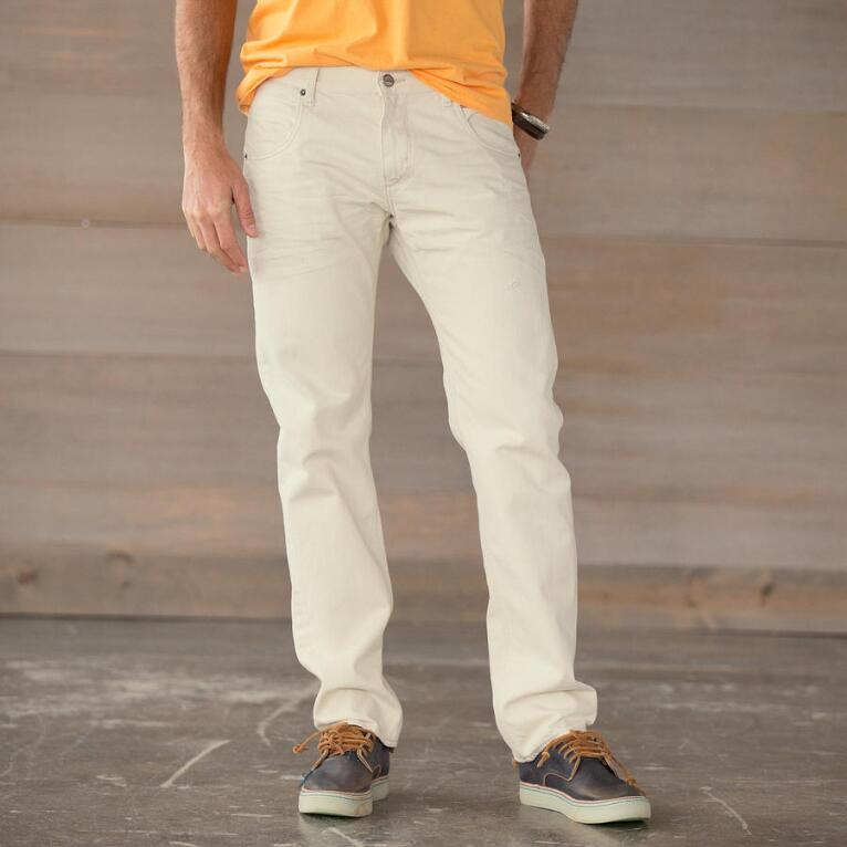 MORGAN STATESIDE JEANS-NATURAL