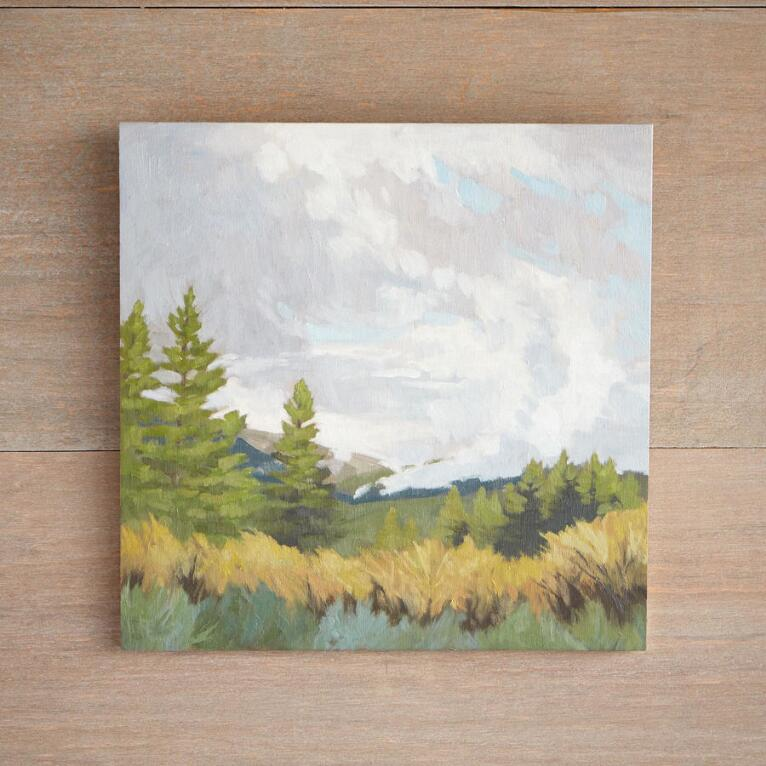 LATE SPRING STORM PAINTING