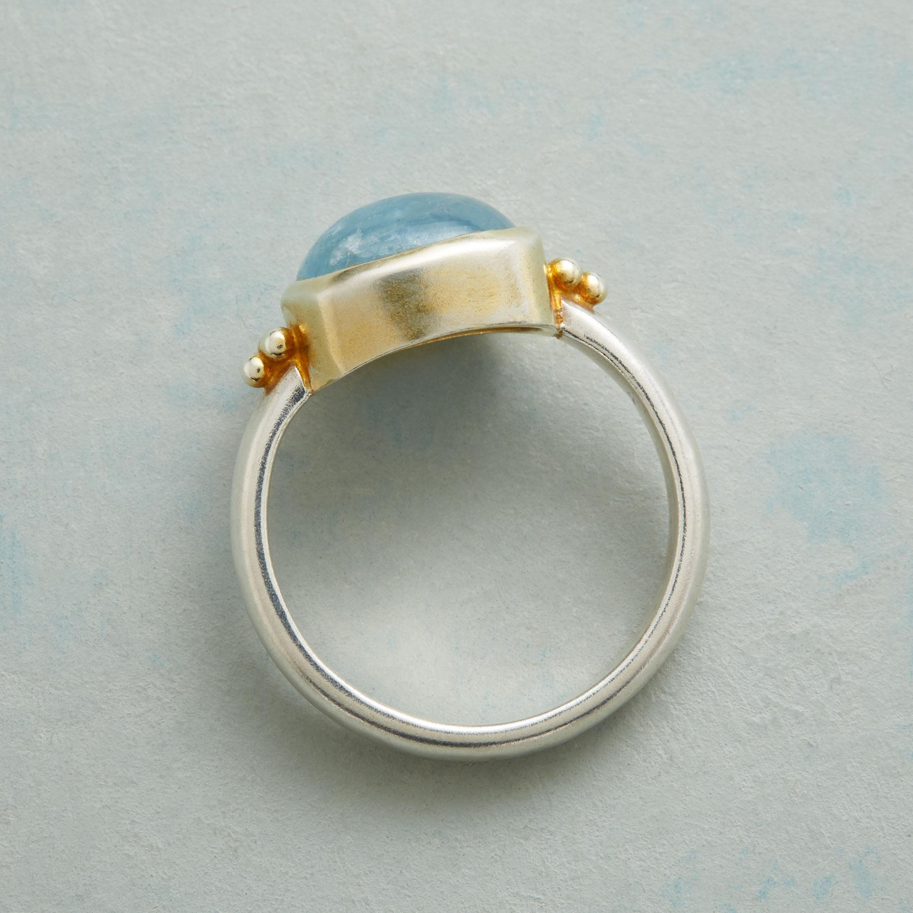 AQUA CHAMBRAY RING: View 2