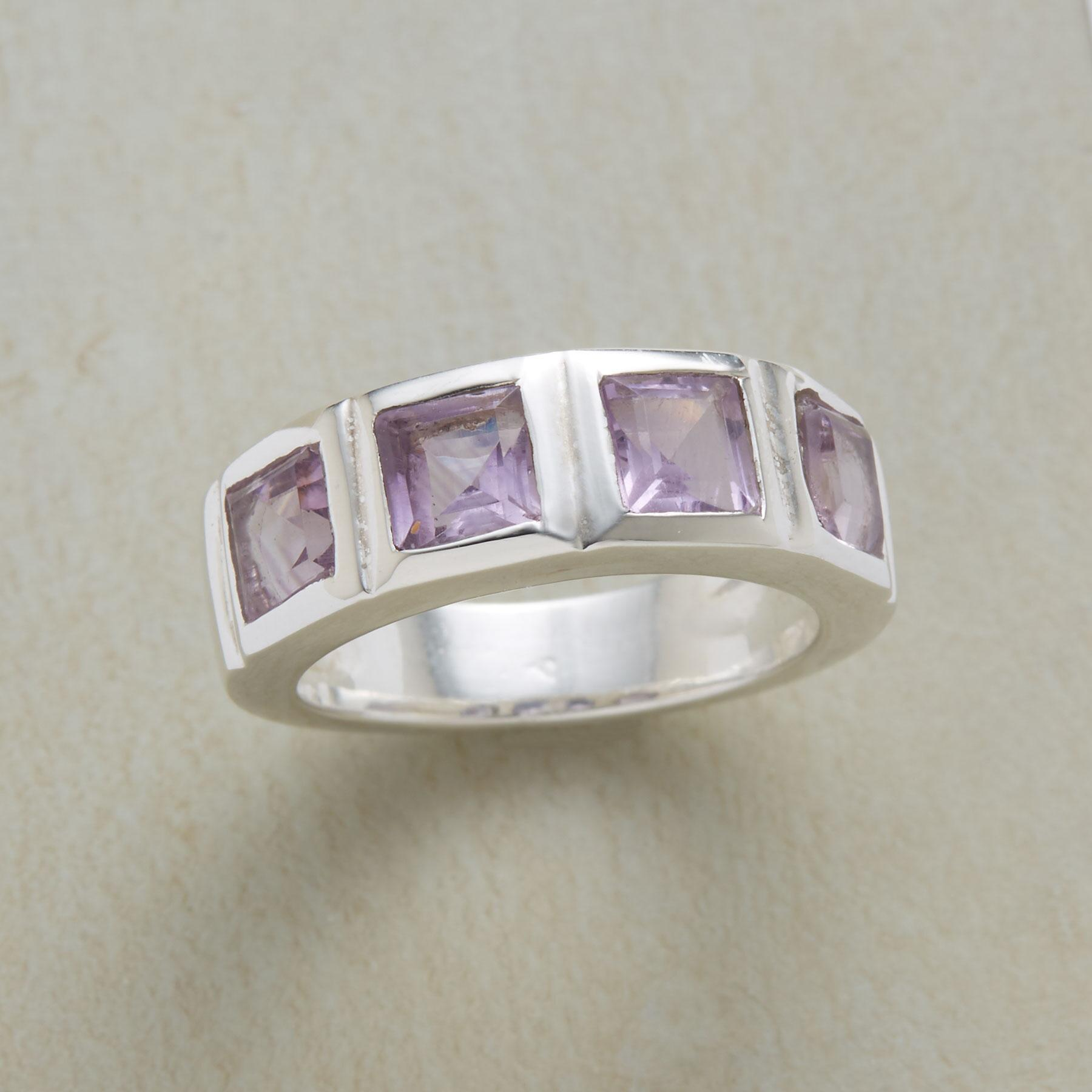 AMETHYST WINDOWS RING: View 1