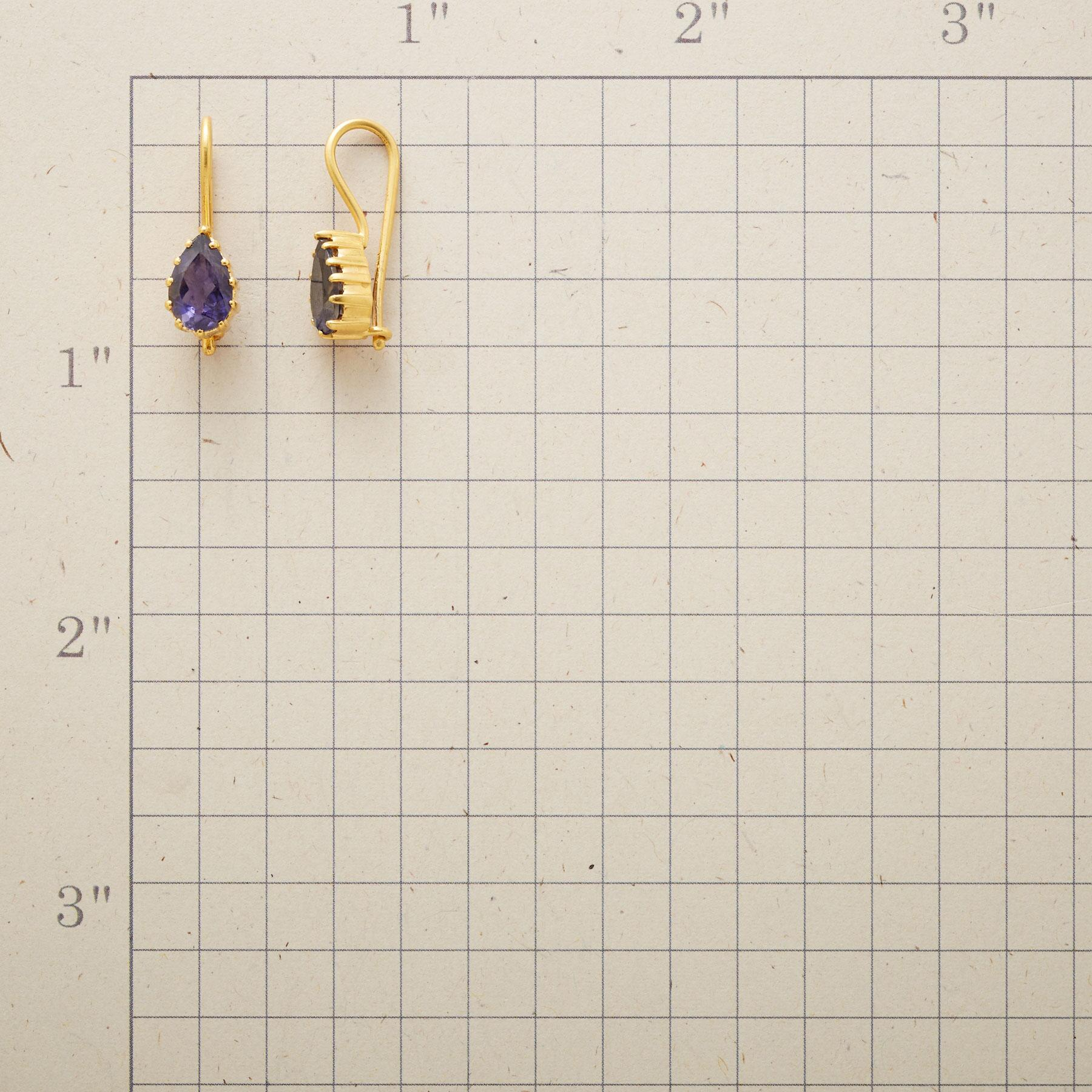 HOLD TIGHT IOLITE EARRINGS: View 2