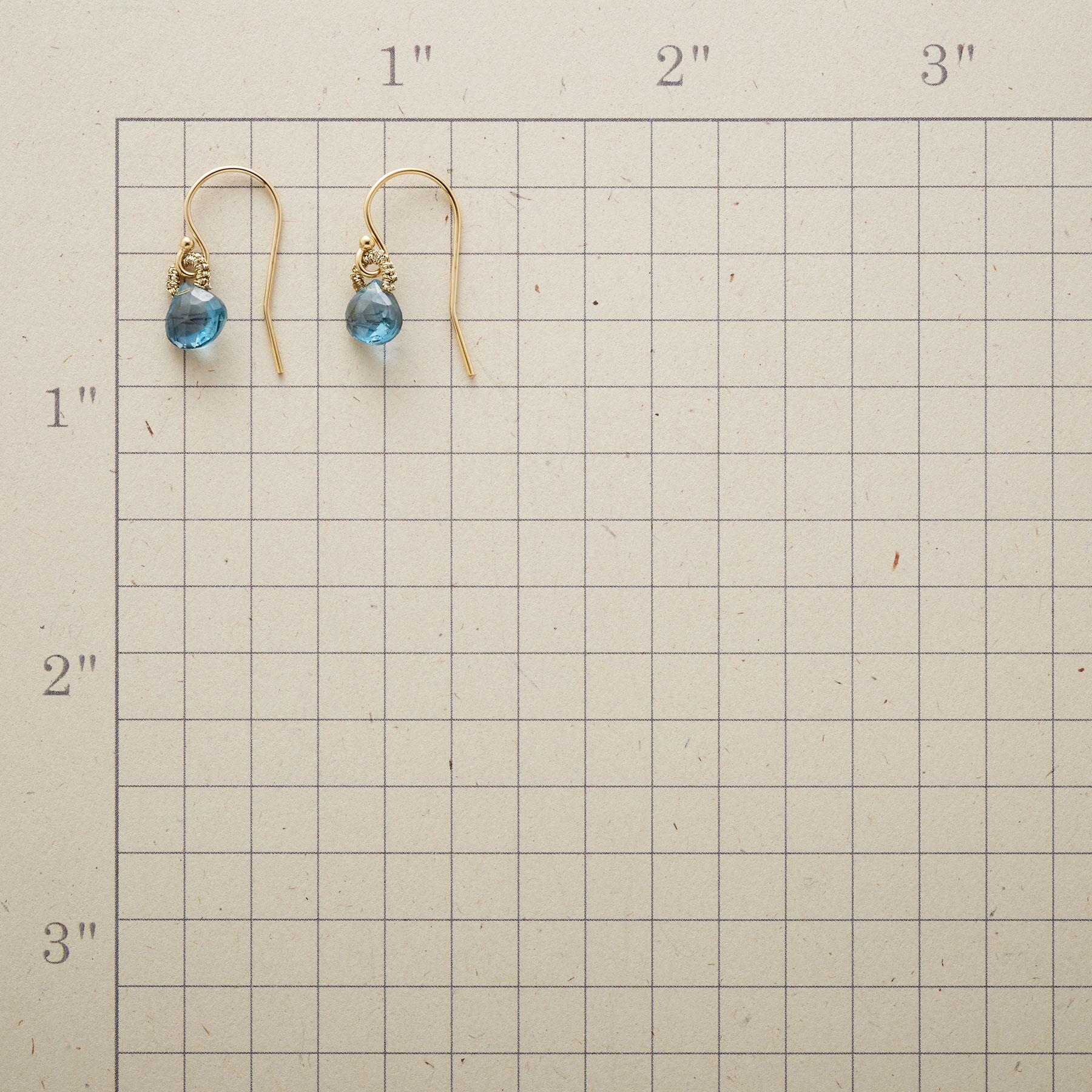 BLINK OF BLUE EARRINGS: View 2