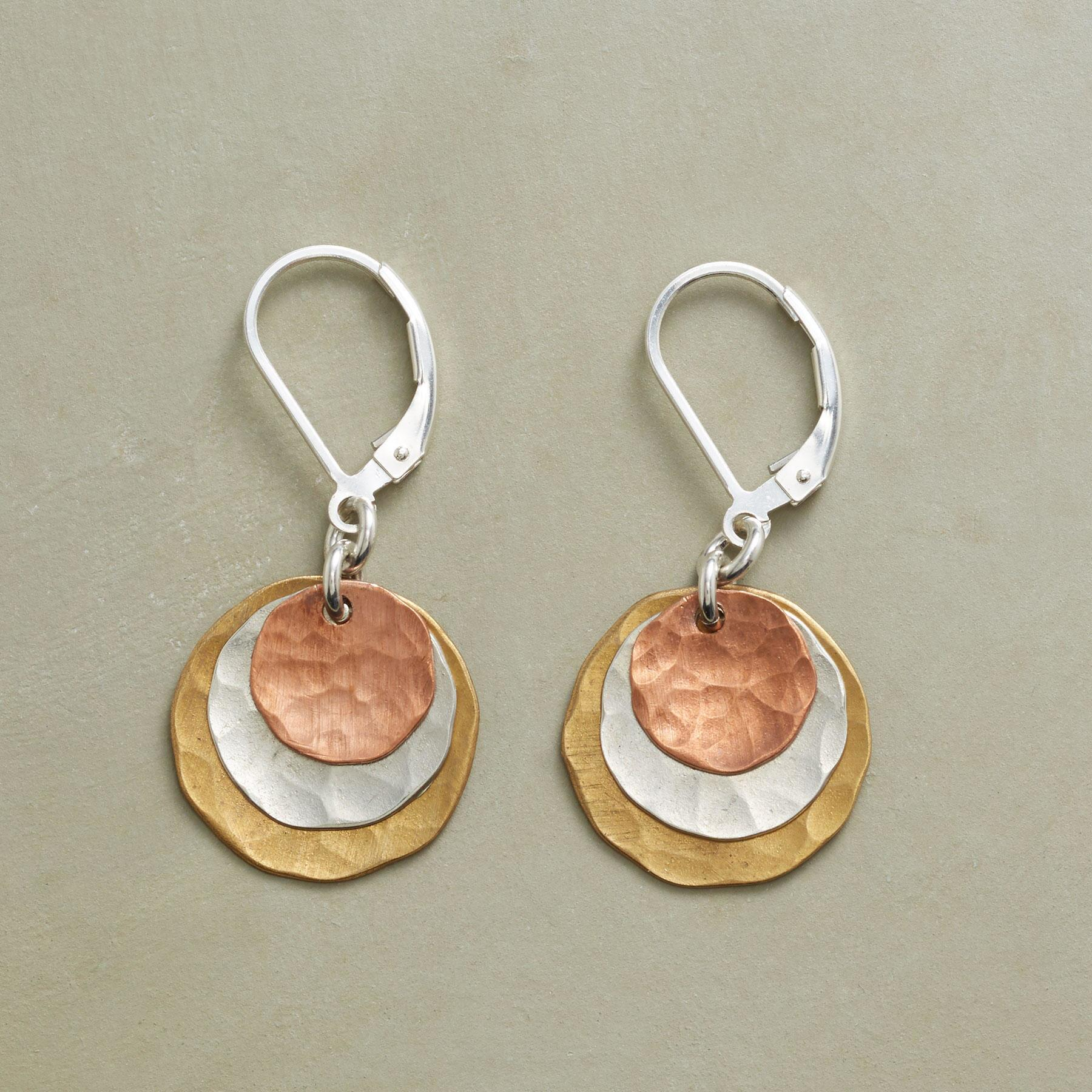 DOUBLE ECLIPSE EARRINGS: View 1