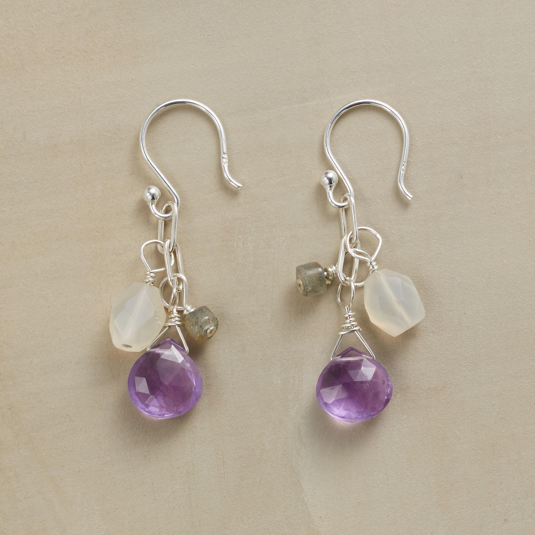 STORM CLOUDS EARRINGS: View 1