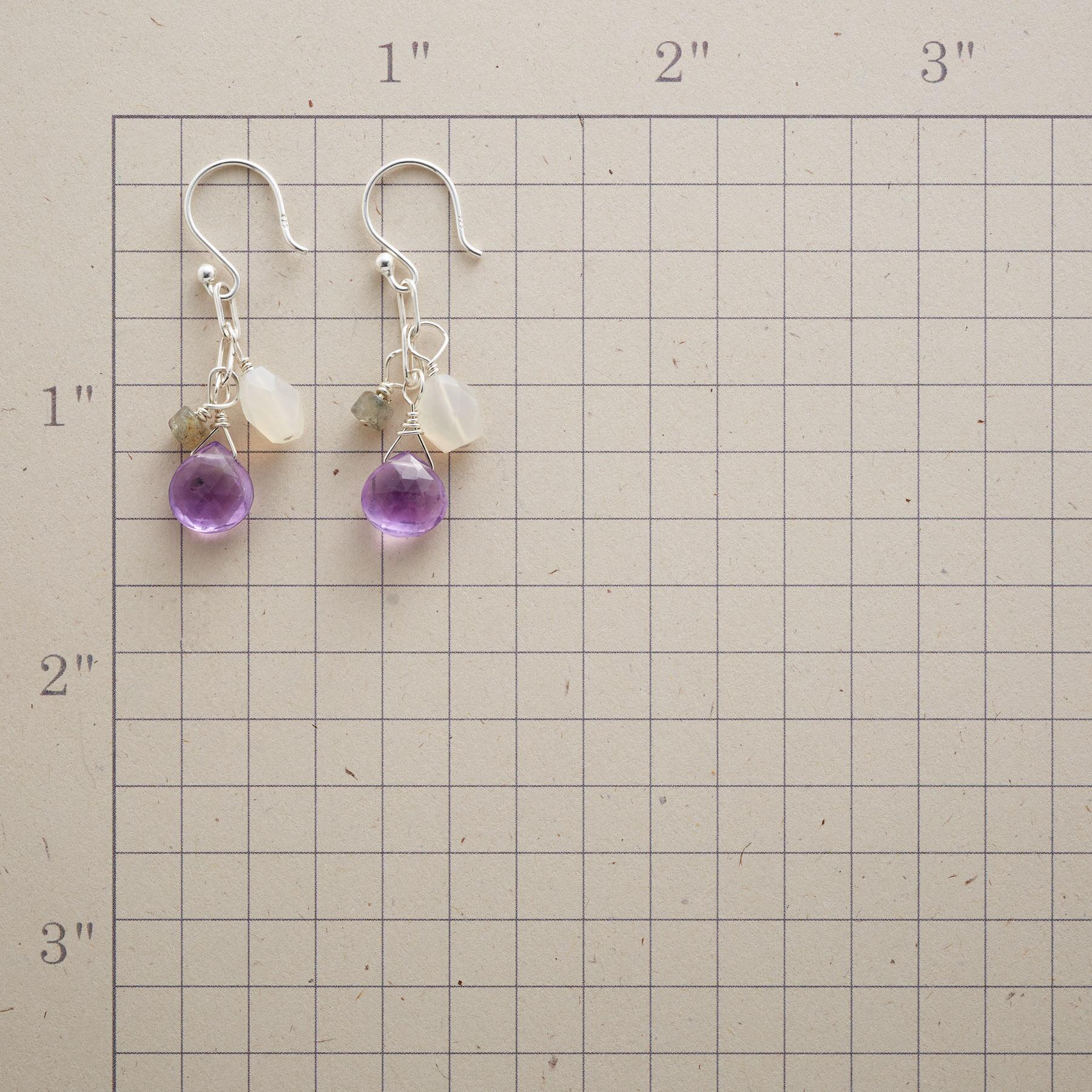 STORM CLOUDS EARRINGS: View 2