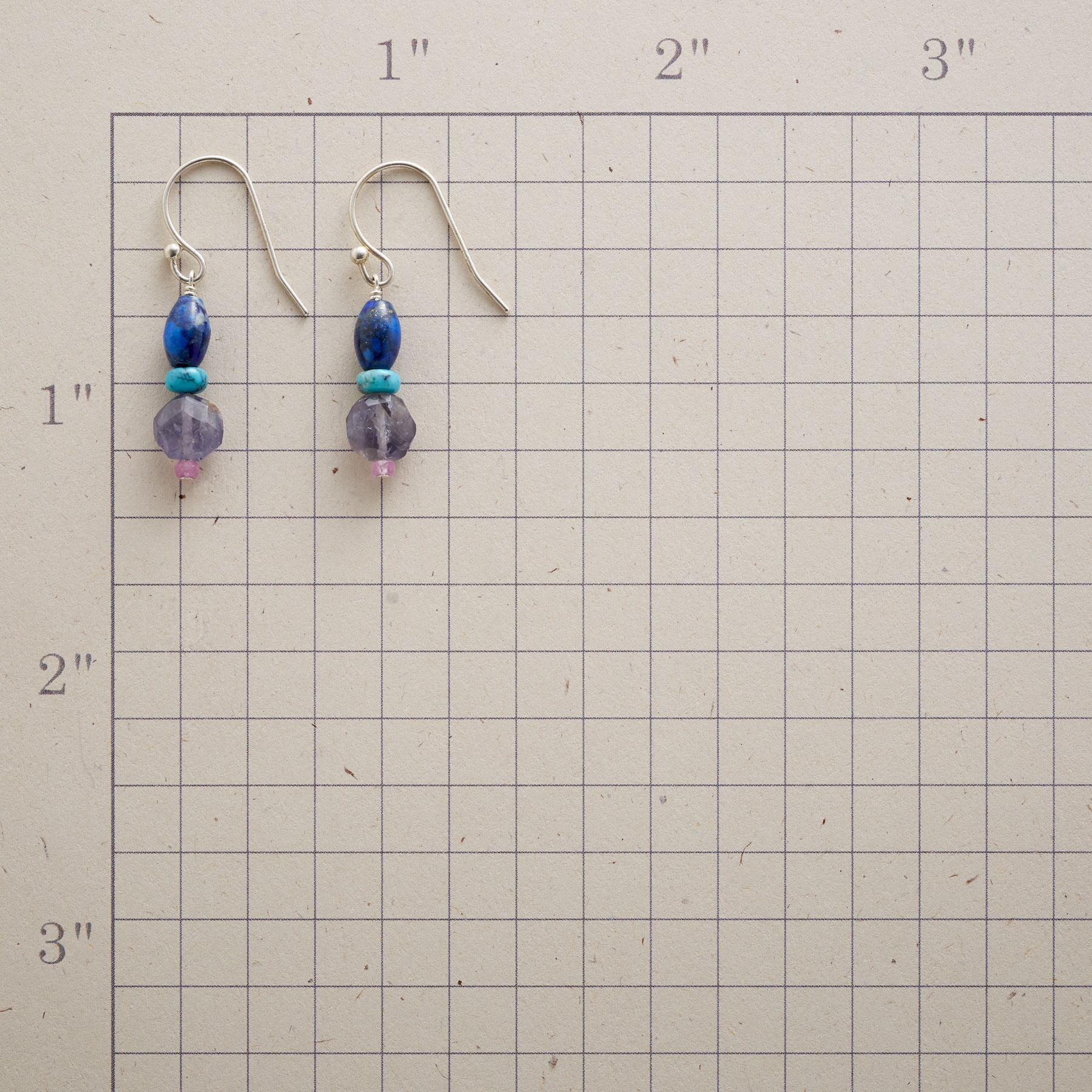 COLUMN OF BLUES EARRINGS: View 2