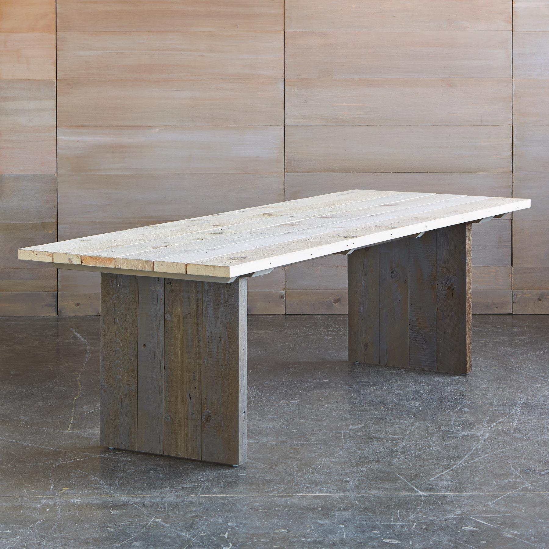 STEWART FALLS OUTDOOR DINING TABLE: View 2
