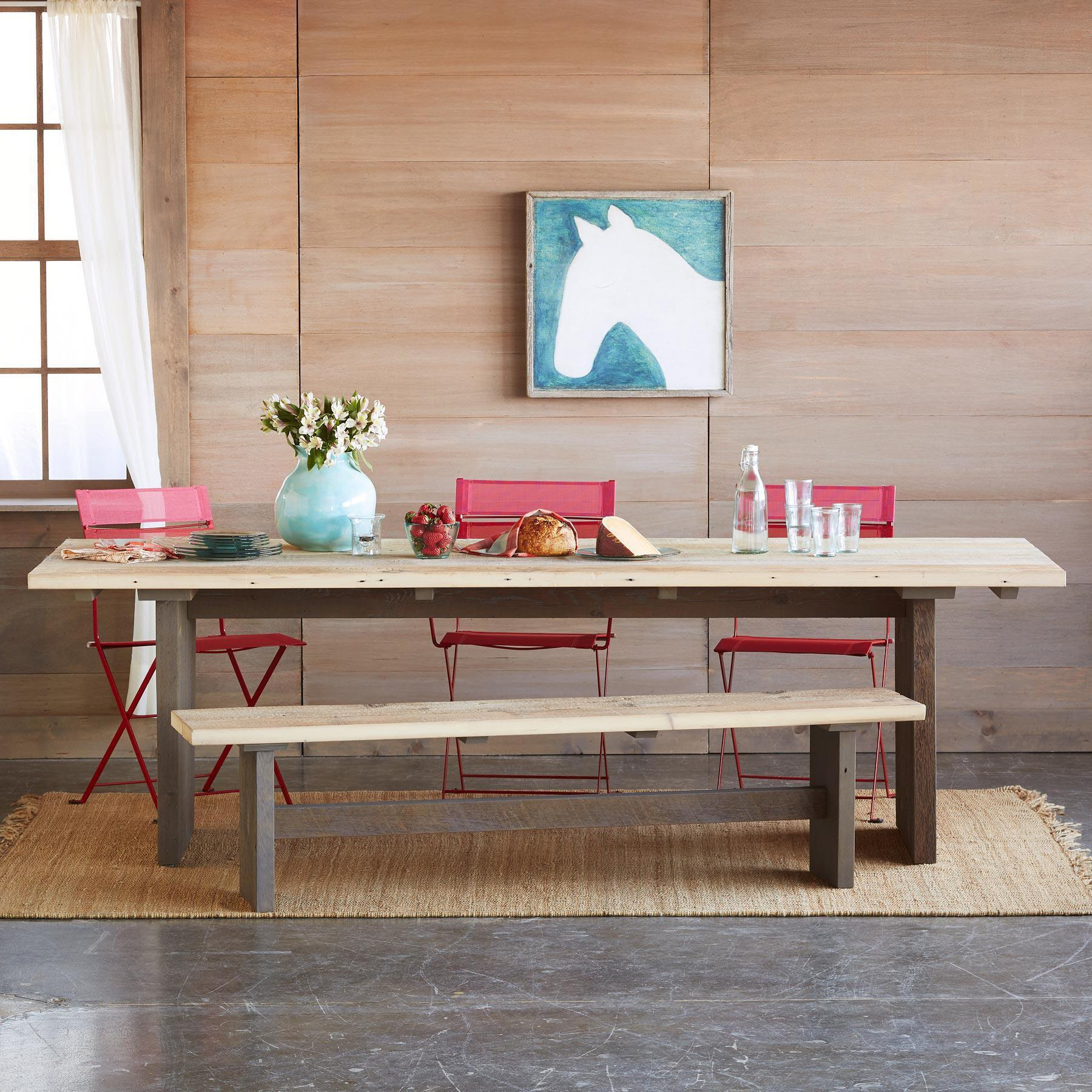 STEWART FALLS OUTDOOR DINING TABLE: View 4
