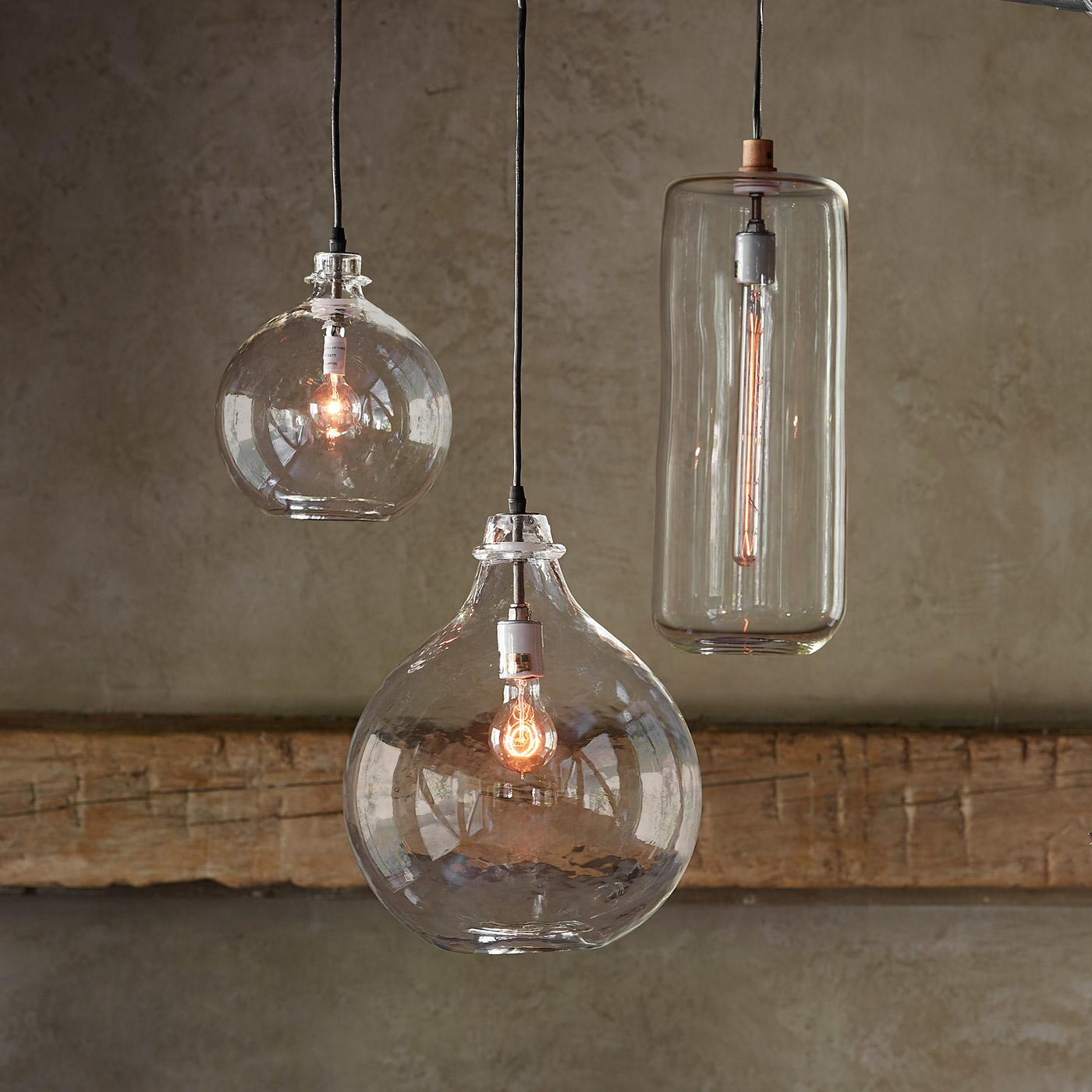 SALON GLASS DEMIJOHN PENDANT LIGHT: View 2