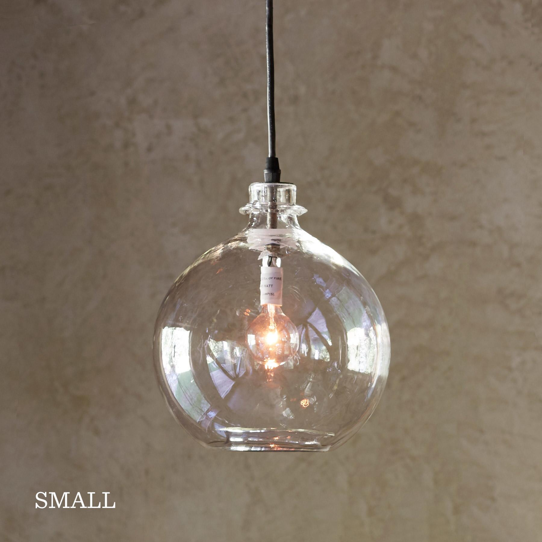 SALON GLASS DEMIJOHN PENDANT LIGHT: View 3