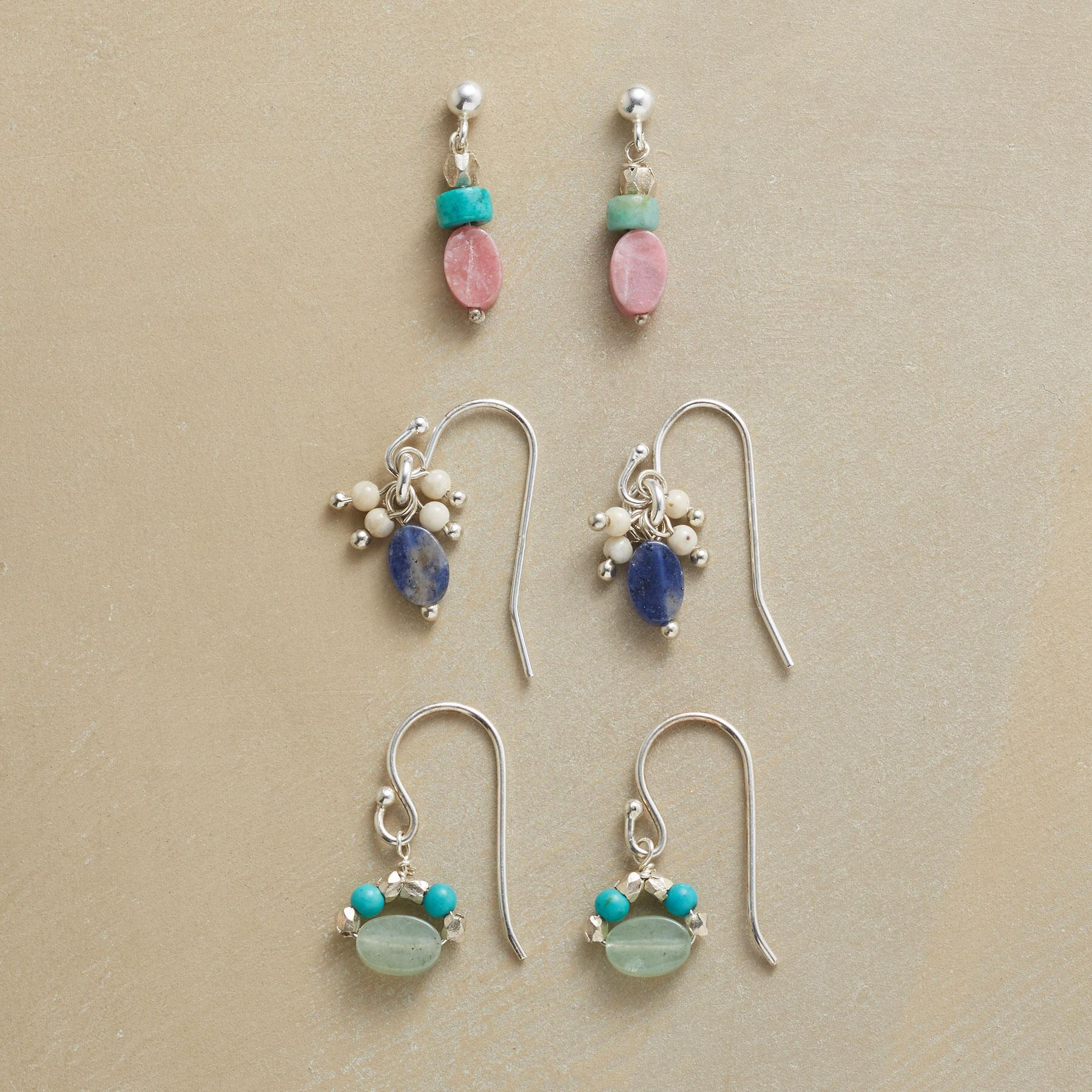 COLORPLAY EARRING TRIO: View 1