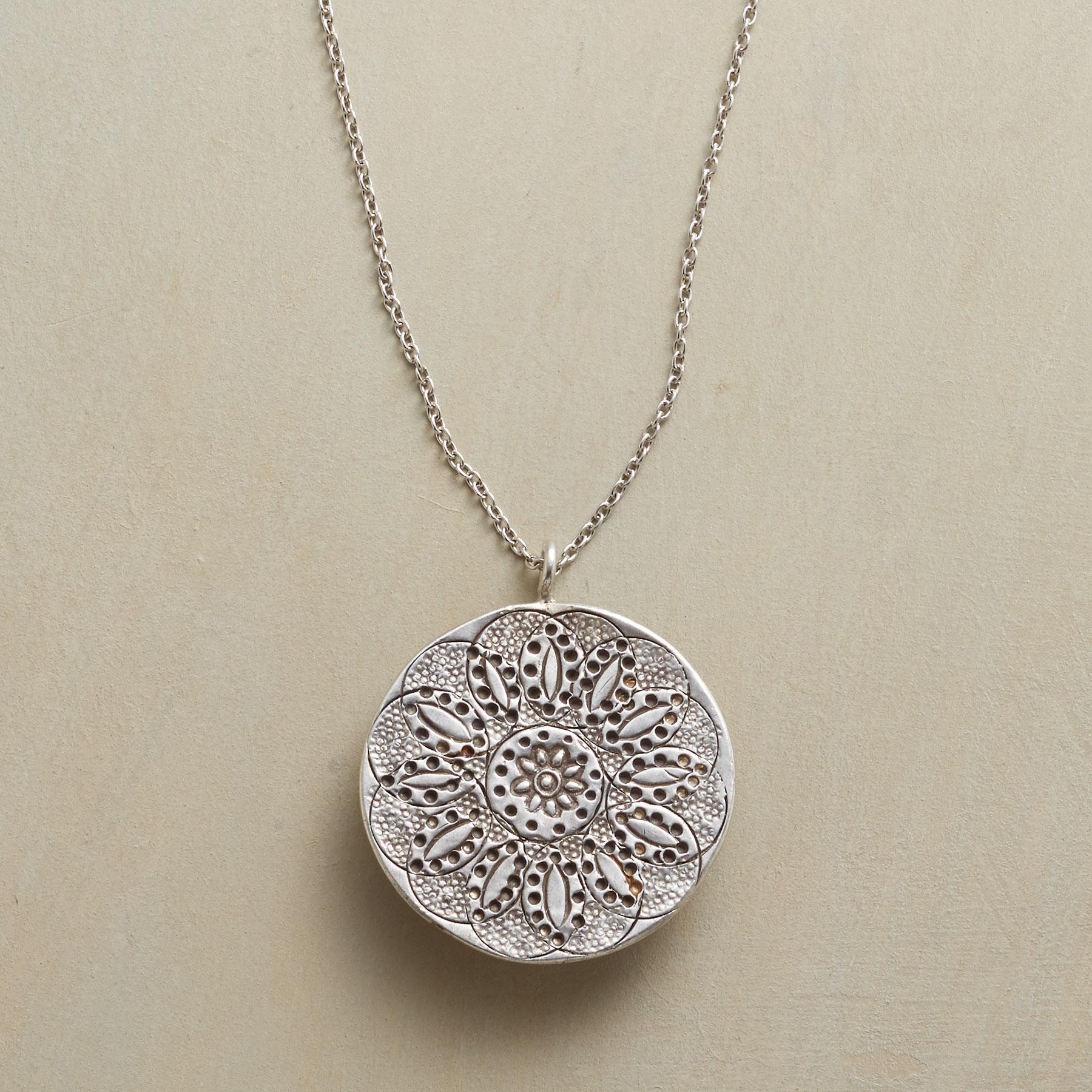 LOTUS NECKLACE: View 1
