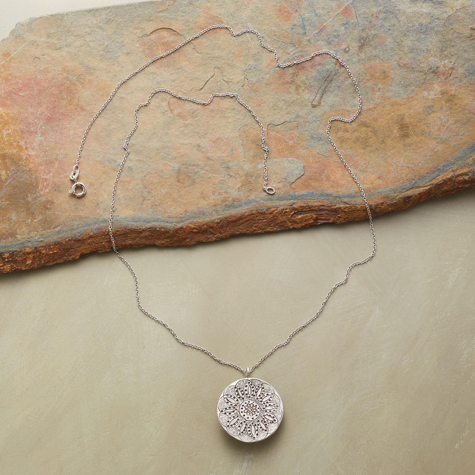 LOTUS NECKLACE: View 2
