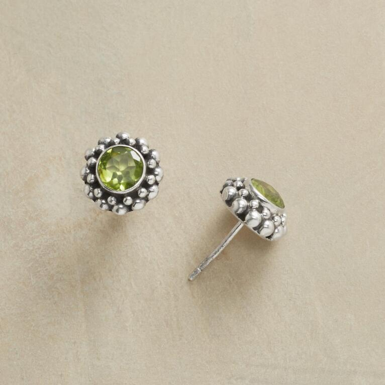 friedman peridot s oratorio earrings round jewelers product