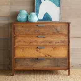 WOOD & IRON HIGH DRESSER