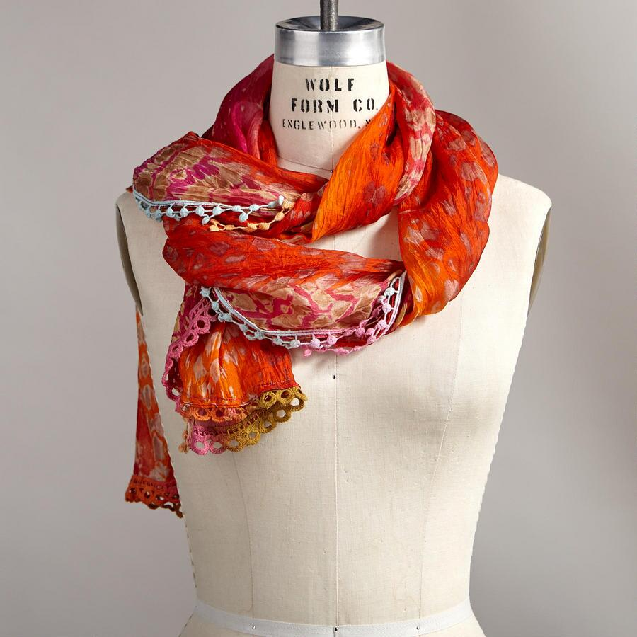 FIRE IN THE SKY SCARF