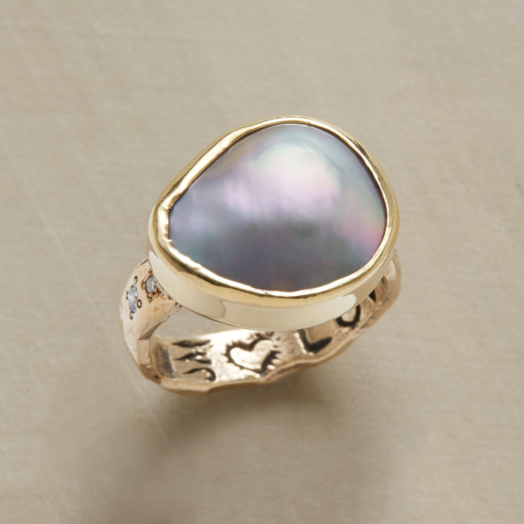 CORTEZ PEARL RING: View 1