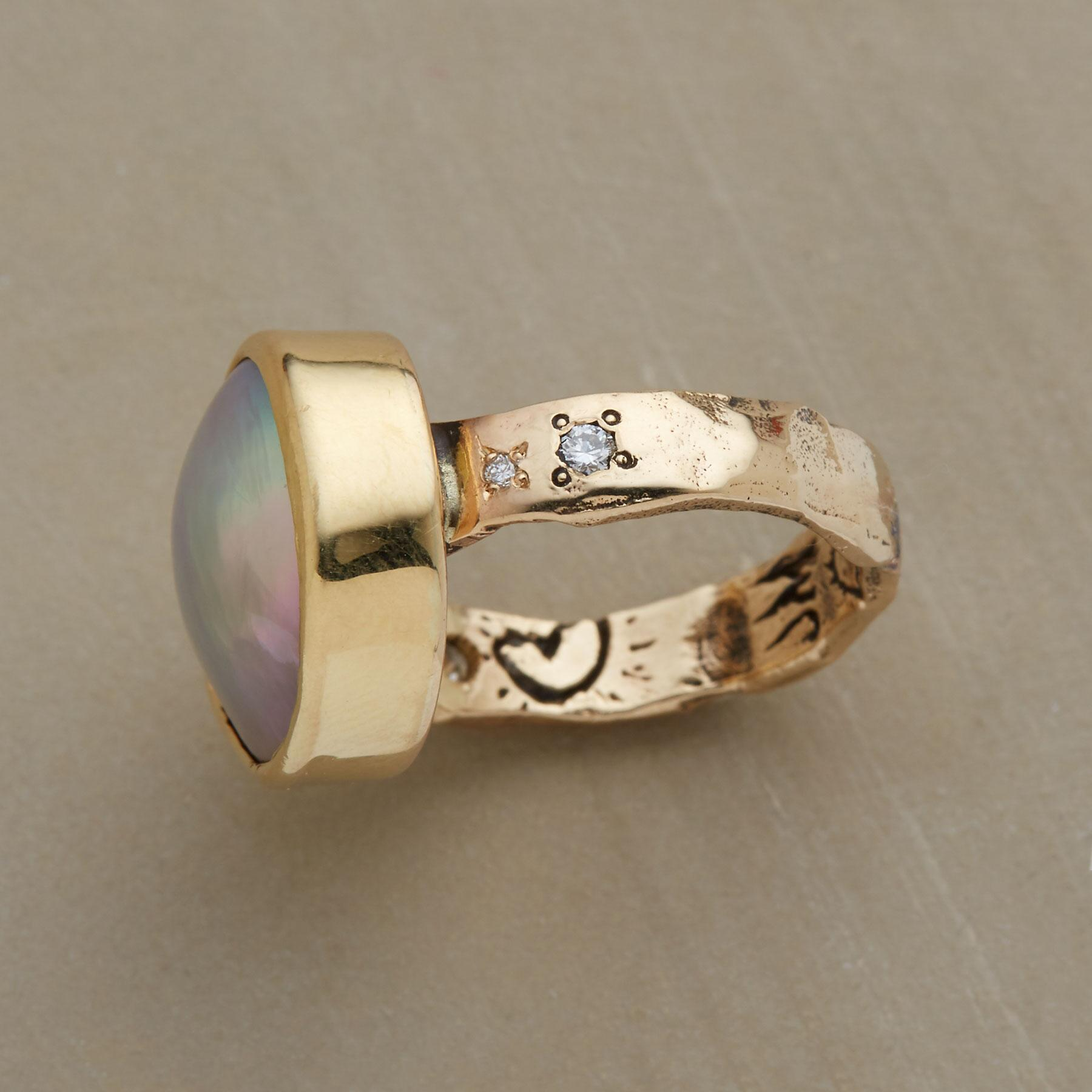 CORTEZ PEARL RING: View 2