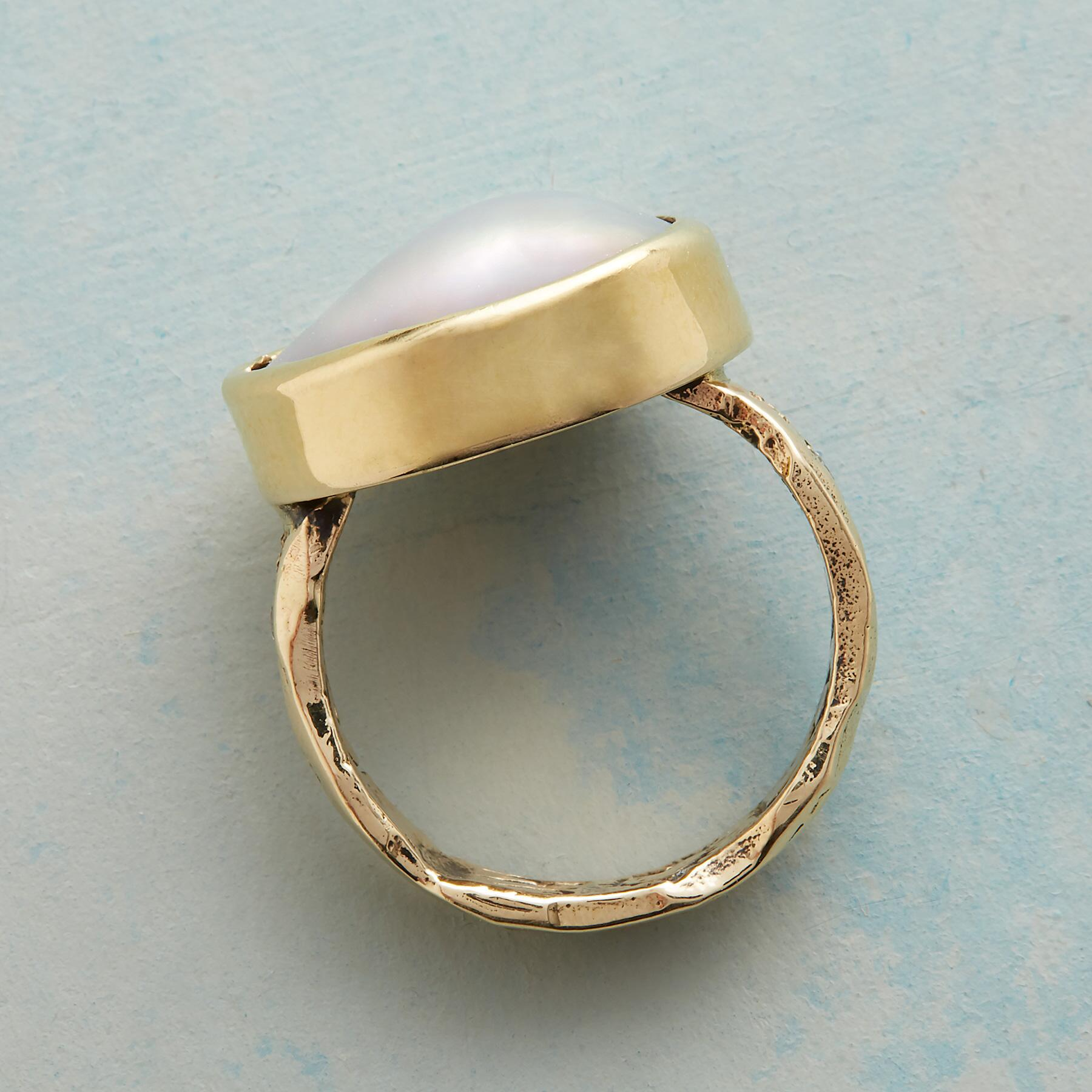 CORTEZ PEARL RING: View 4