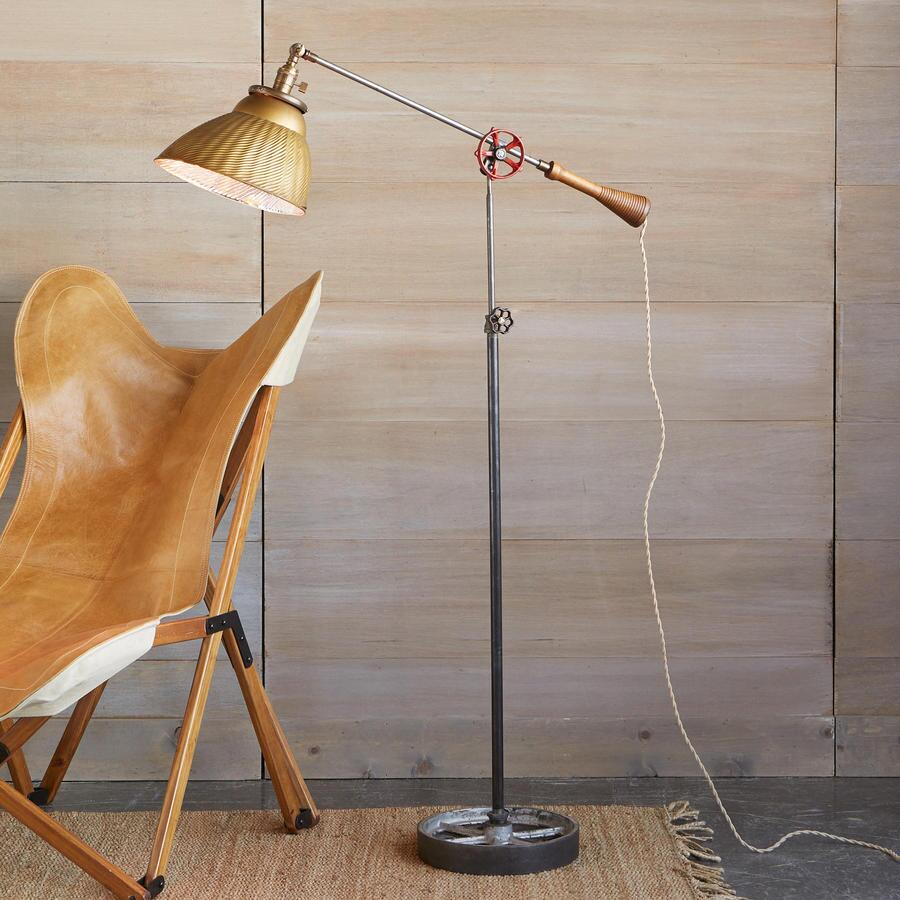 ROBERT OGDEN TROY FLOOR LAMP