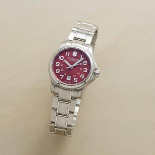 NEW CHERRY RED SWISS ARMY WATCH