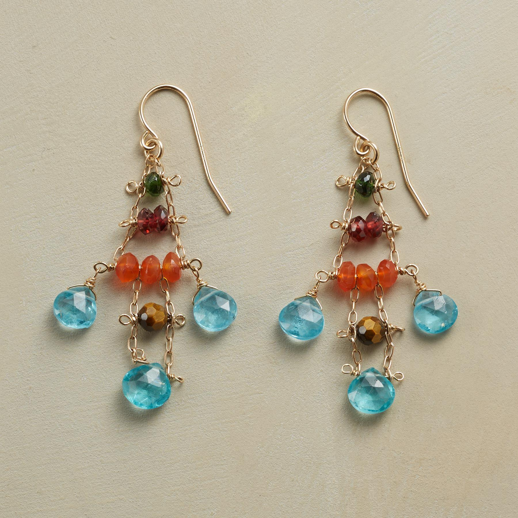 SEA CHIME EARRINGS: View 1