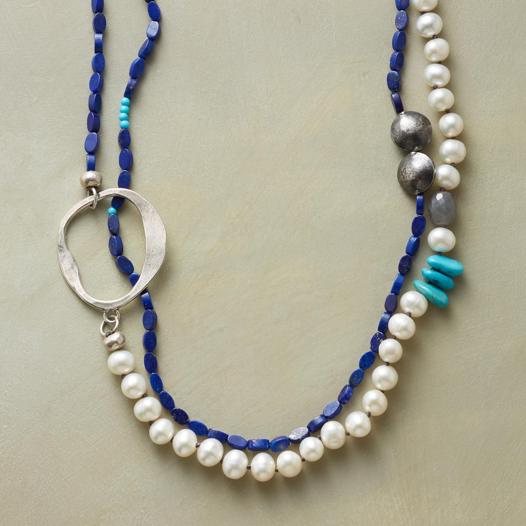 ODE TO THE OCEAN NECKLACE: View 1