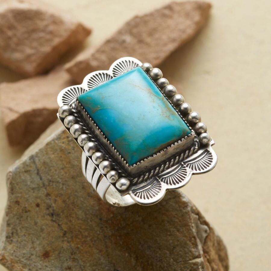 TREASURED TURQUOISE RING