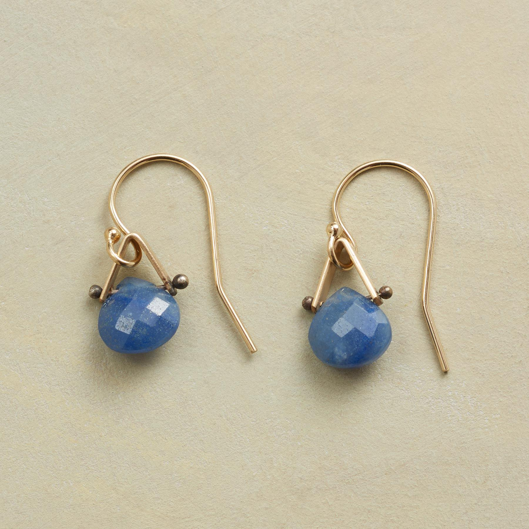 INDIGO GIRL EARRINGS: View 1