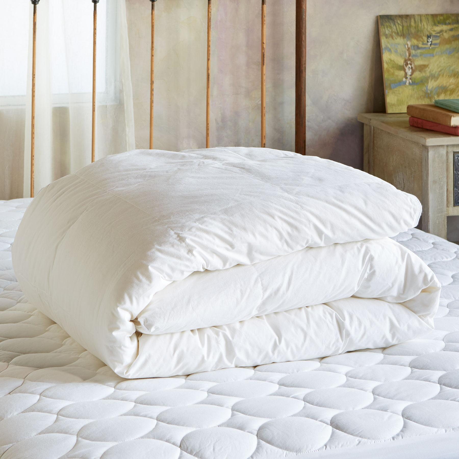 SUNDANCE ESSENTIALS HEAVYWEIGHT DOWN DUVET: View 1