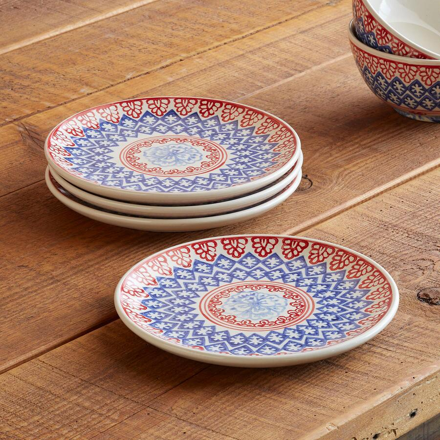 AMERICAN... SALAD PLATE S/4