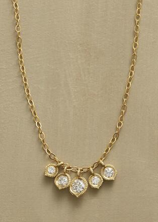 DANCING DIAMONDS NECKLACE