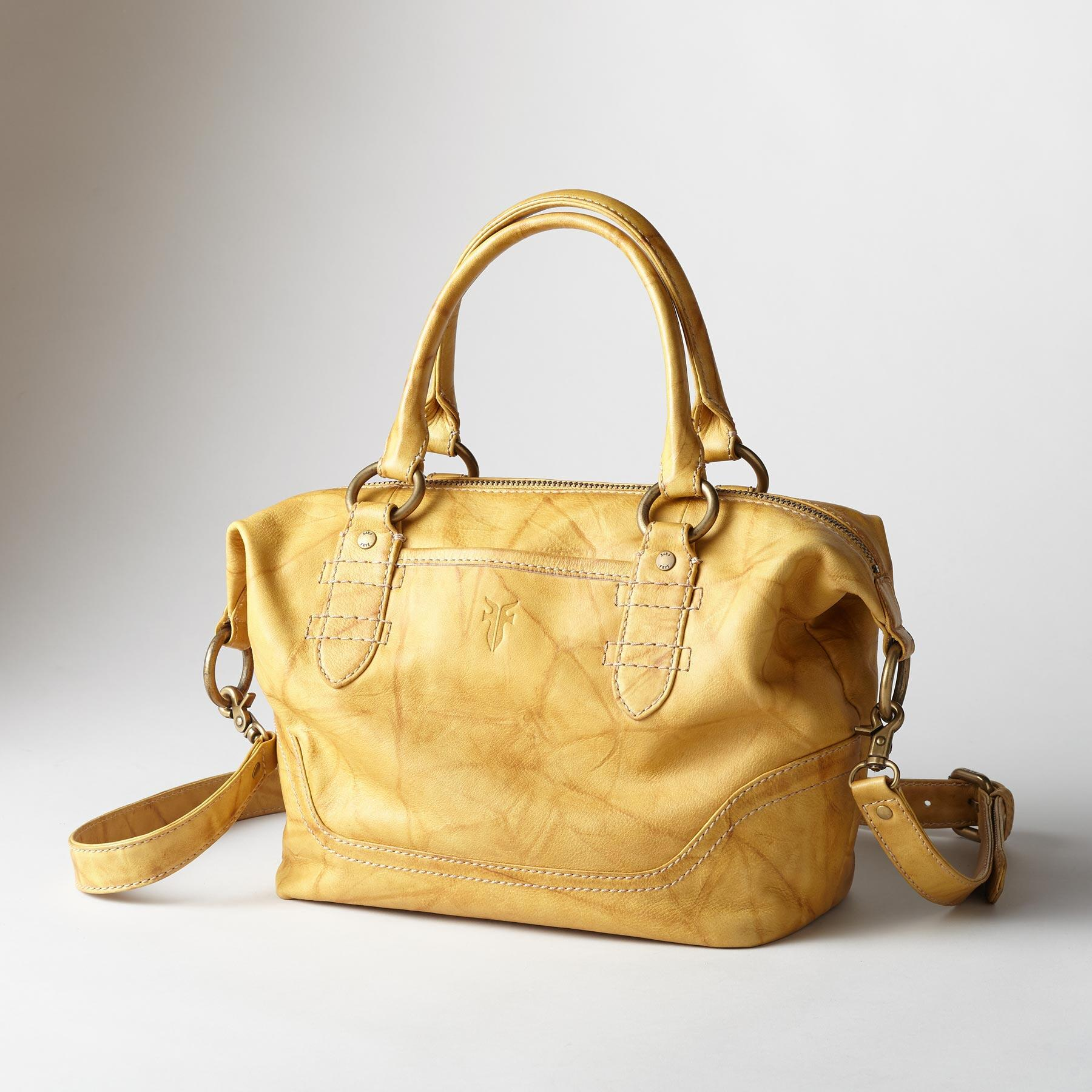 CAMPUS ZIP SATCHEL BY FRYE: View 1