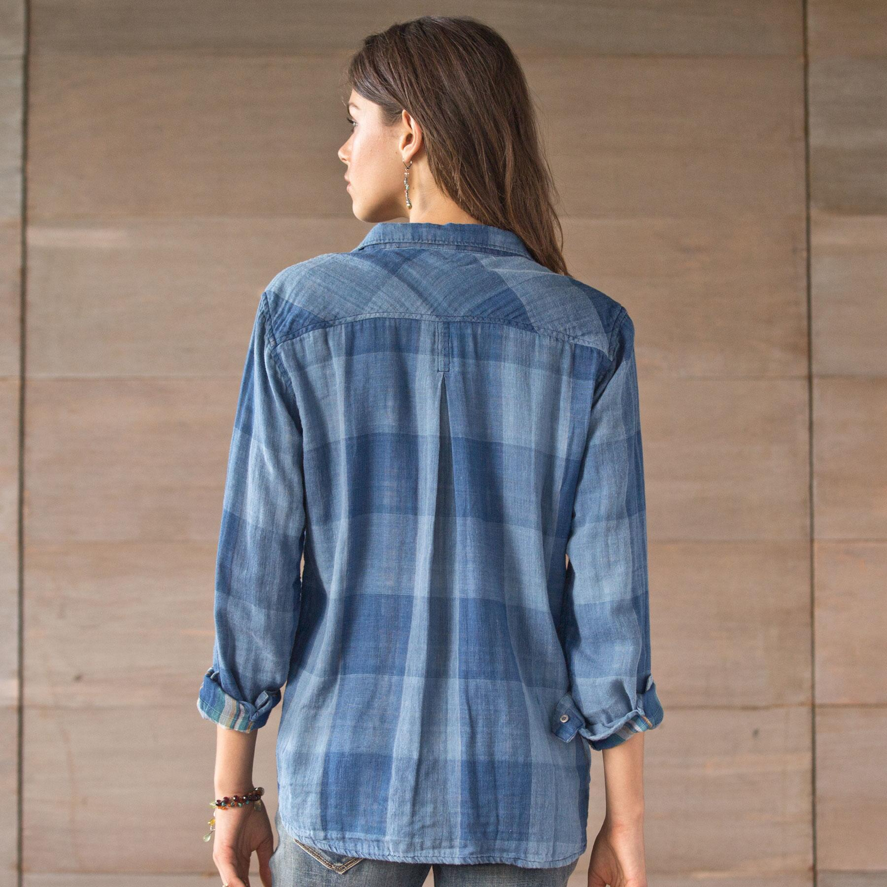 GILLY PLAID SHIRT: View 2