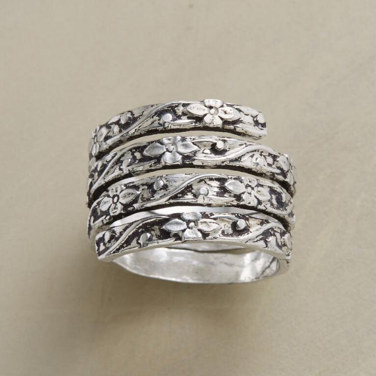 COILED VINE RING