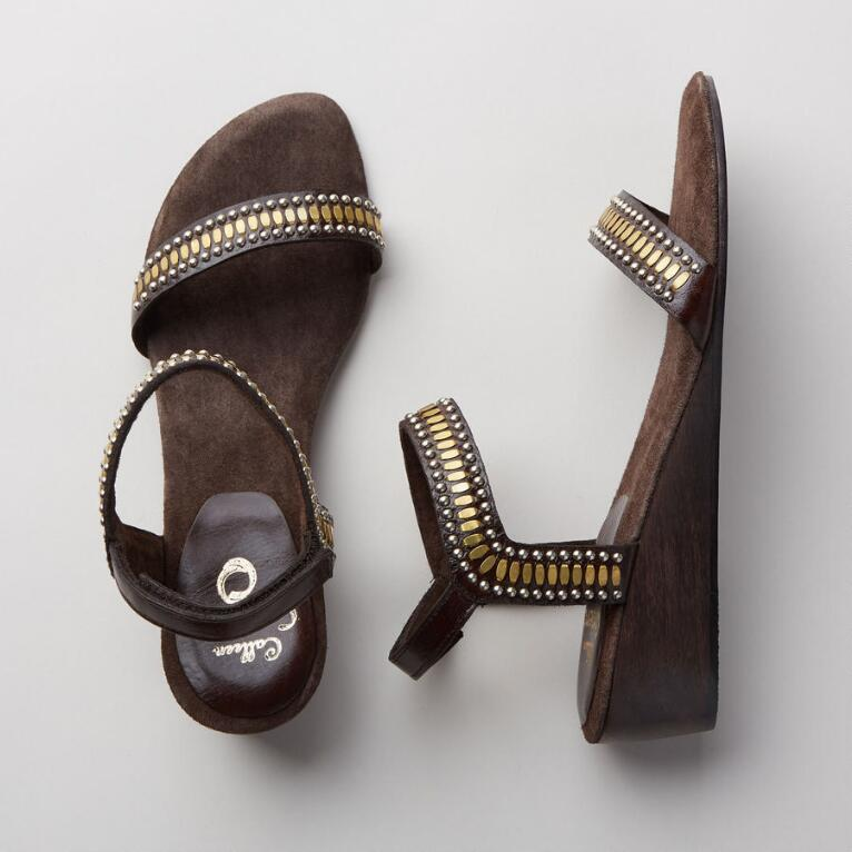COCO WEDGE SANDALS
