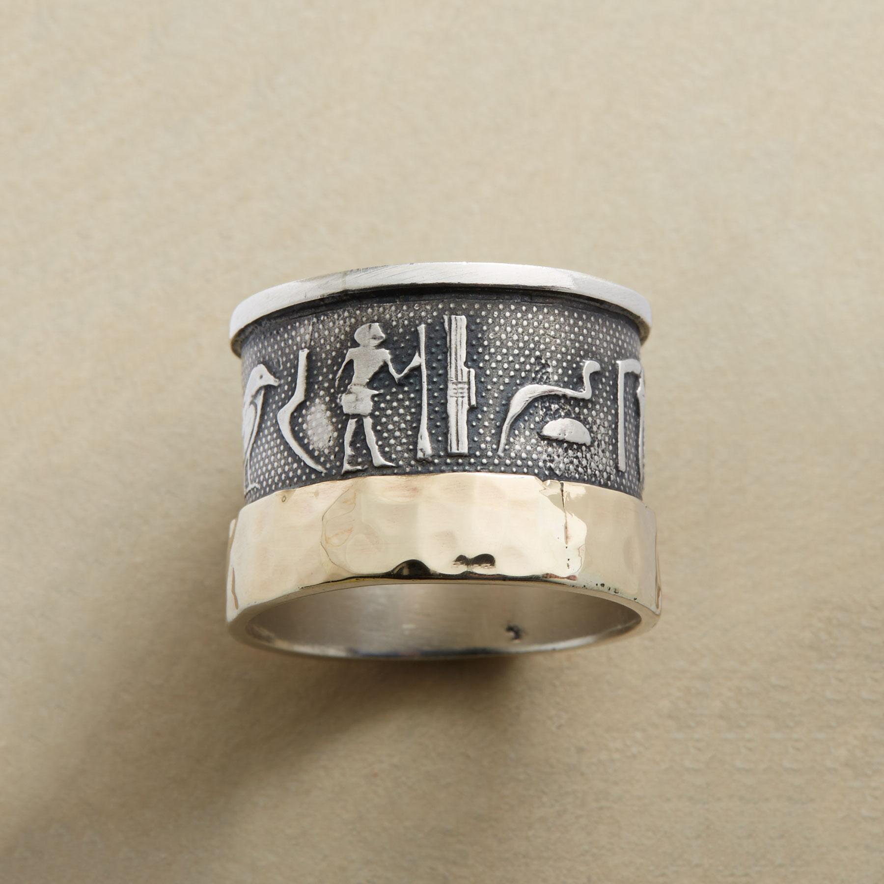 HIEROGLYPH RING: View 2