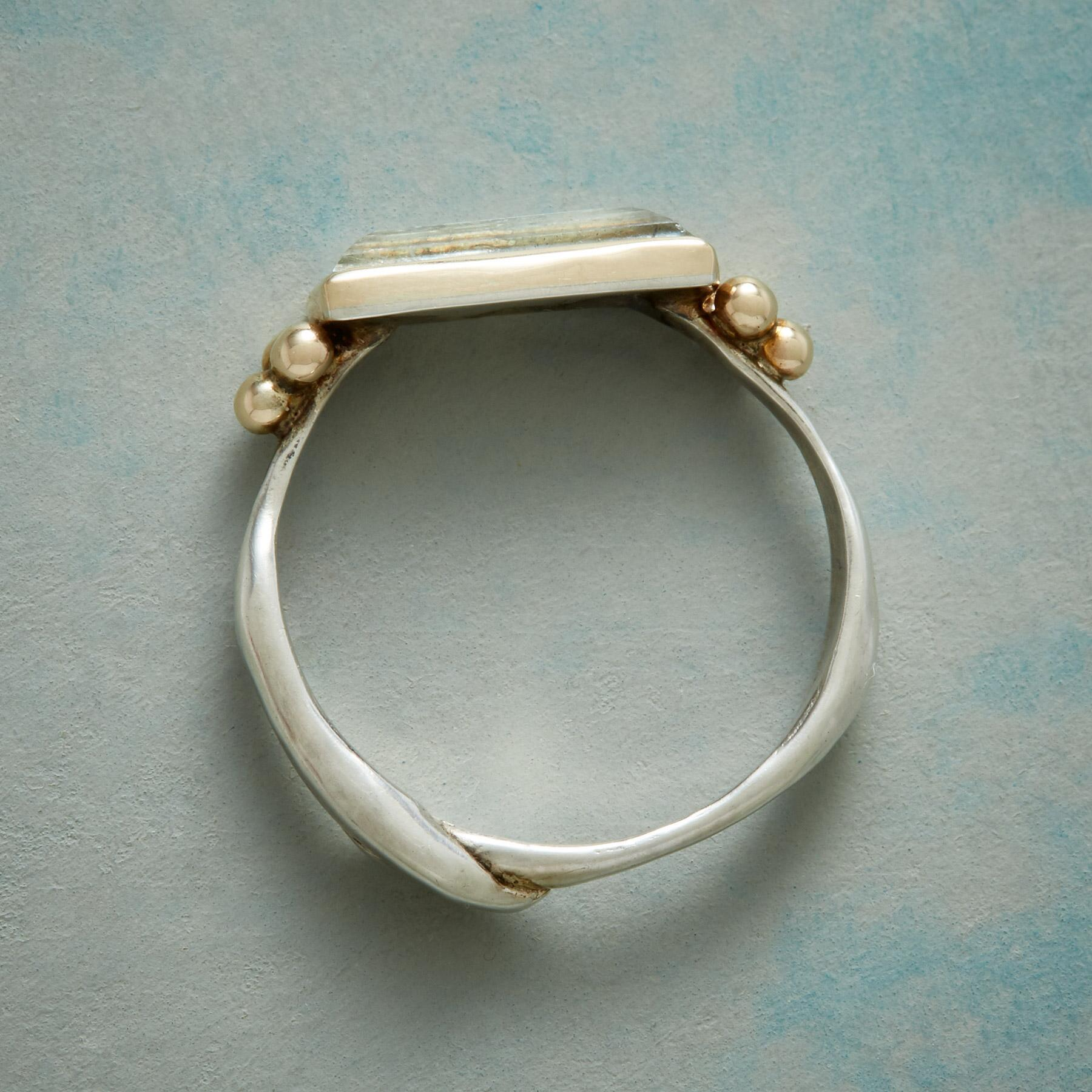 SCULPTED AQUA RING: View 2