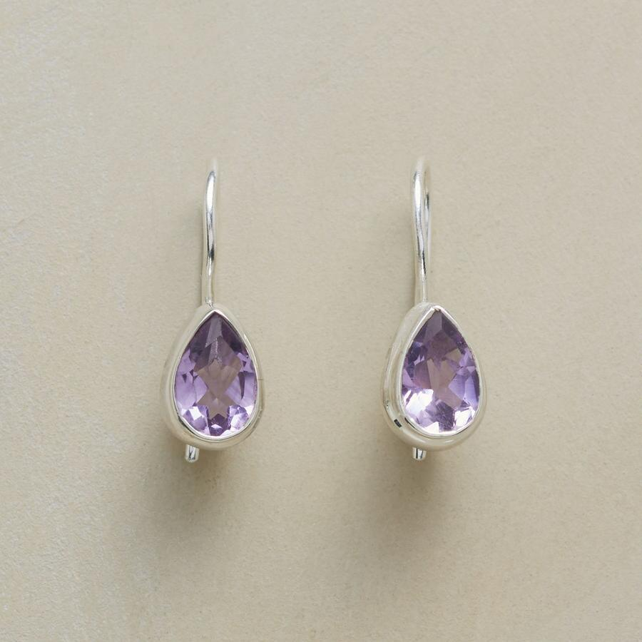 TEARS OF AMETHYST EARRINGS