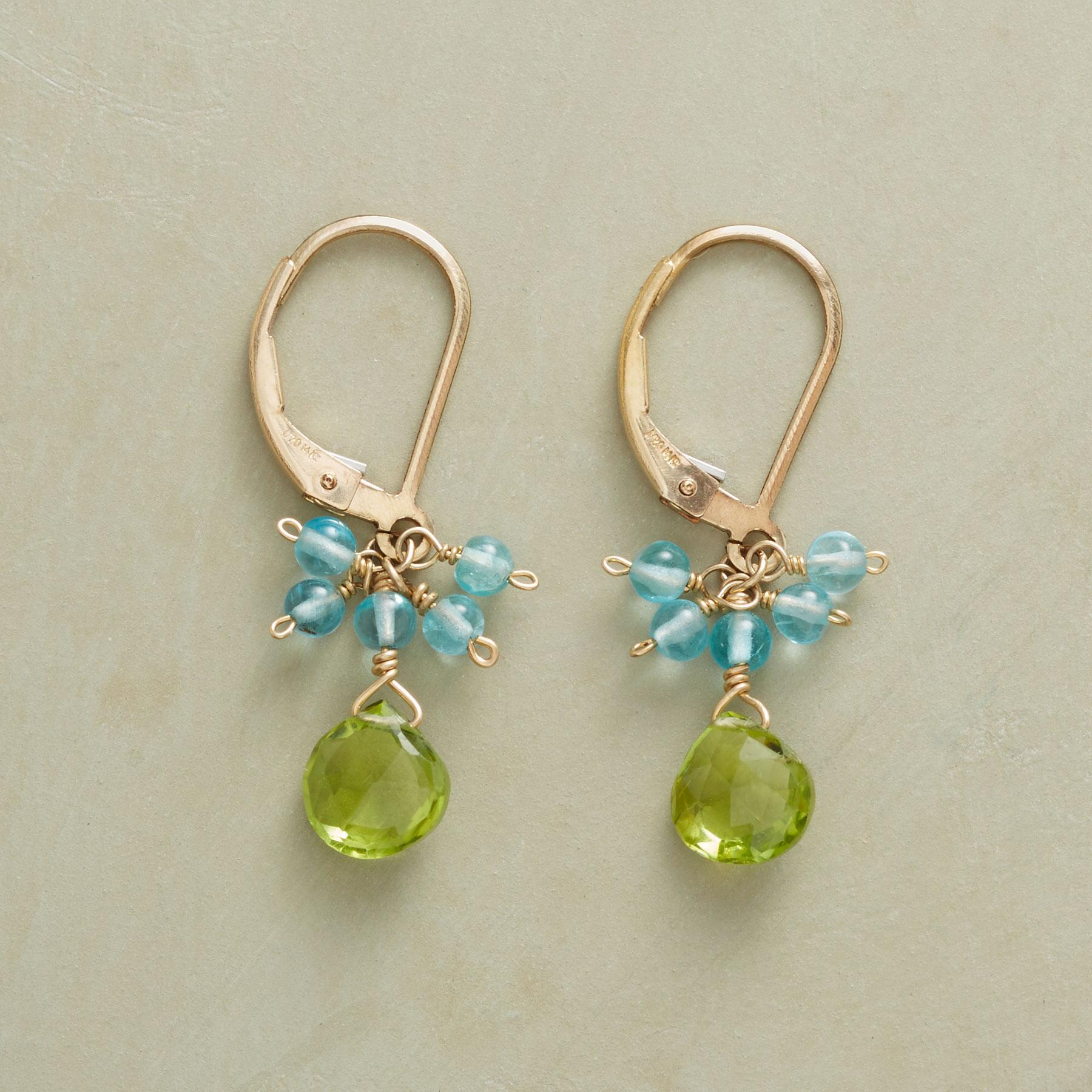 GREEN VALLEY EARRINGS: View 1