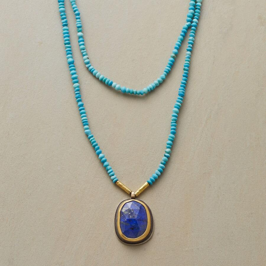 EXCEPTIONAL LAPIS NECKLACE