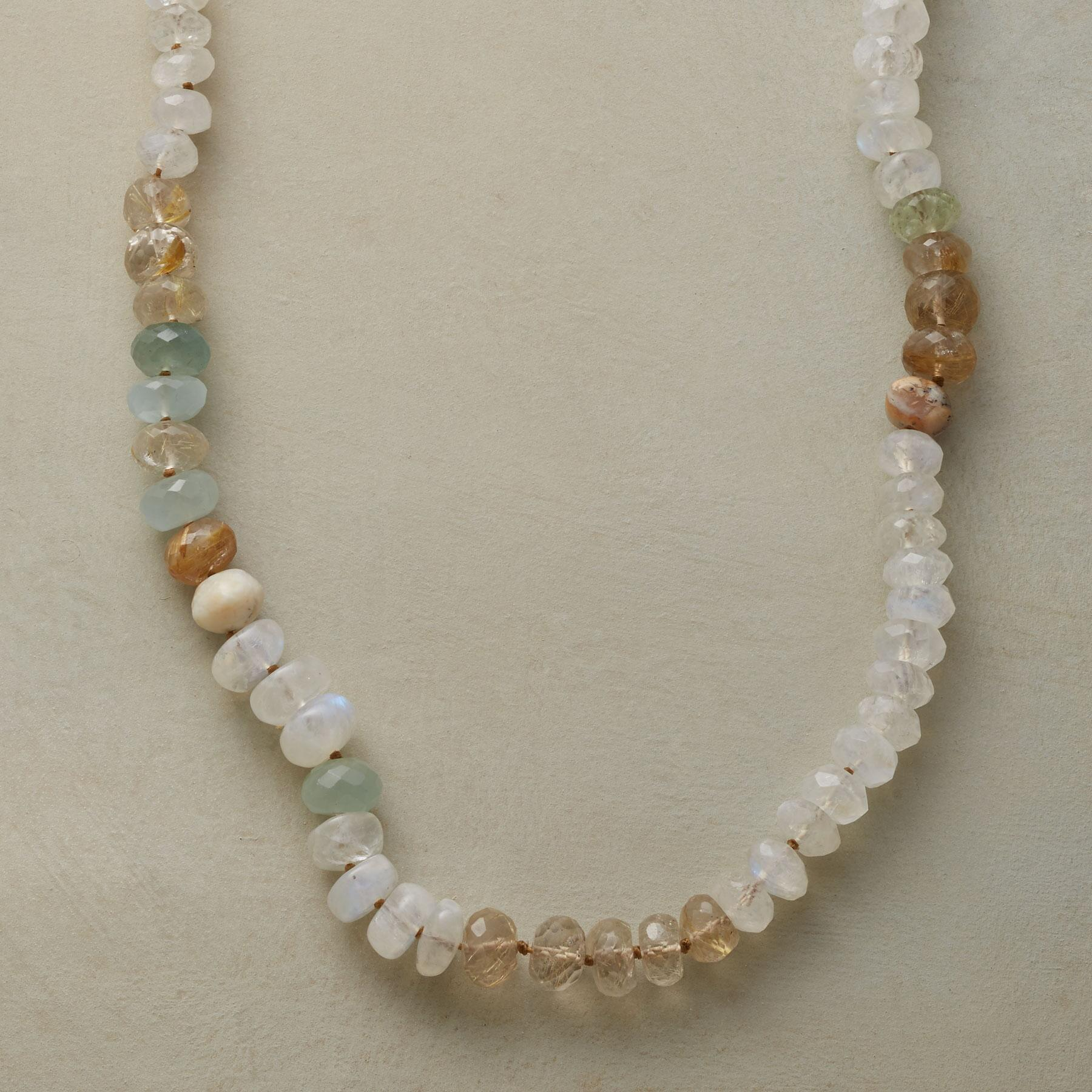 MOONSTONES AND MORE NECKLACE: View 1