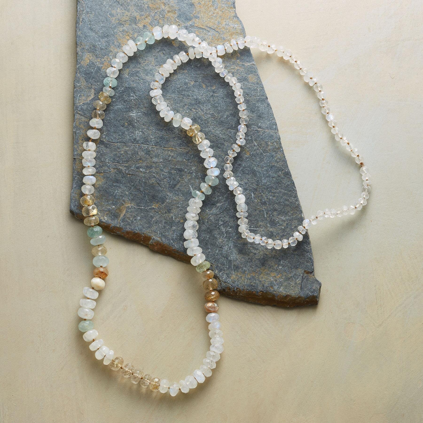 MOONSTONES AND MORE NECKLACE: View 2