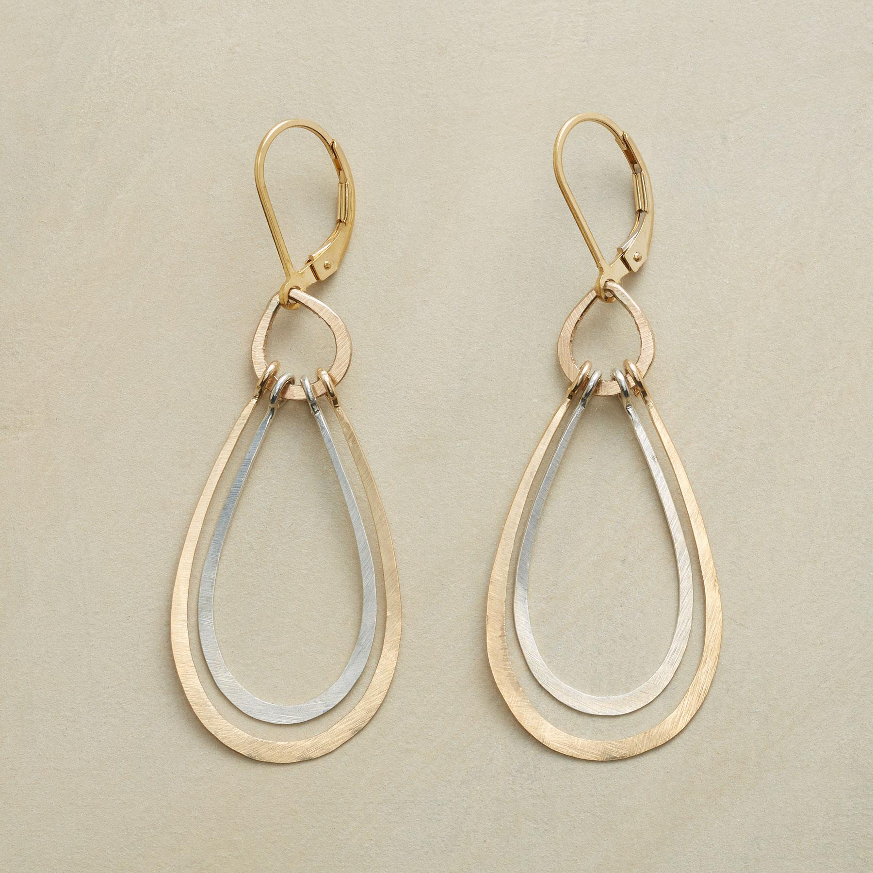NESTING TEARDROP EARRINGS: View 1