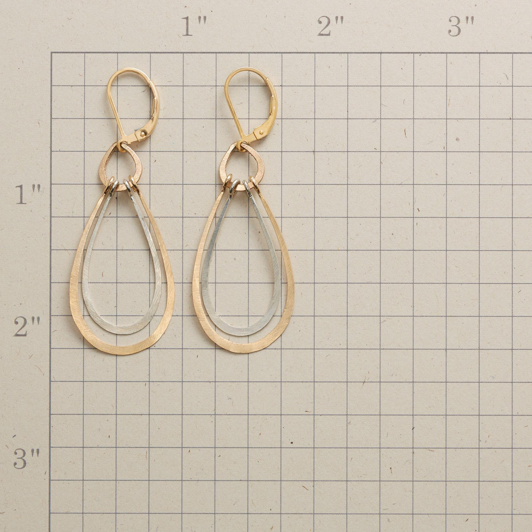 NESTING TEARDROP EARRINGS: View 2